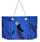 The Blackbird And The Moon Weekender Tote Bag
