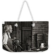 The Blacksmith 2 Monochrome Weekender Tote Bag
