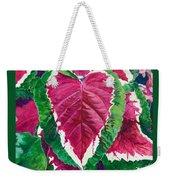 The Bleeding Heart Weekender Tote Bag