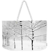 The Blizzard Bw Weekender Tote Bag