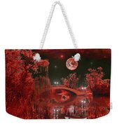 The Blood Moon Weekender Tote Bag