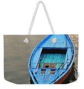 The Blue Boat Weekender Tote Bag by Kim Bemis