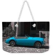 The Blue Car Weekender Tote Bag