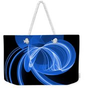 The Blue Cat Weekender Tote Bag