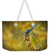 The Blue Dragonfly  Weekender Tote Bag