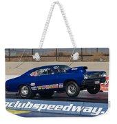 The Blue Duster Weekender Tote Bag