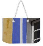 The Blue Framed Window Weekender Tote Bag