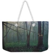The Blue-green Forest Weekender Tote Bag