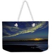 The Blue Hour Sunset Weekender Tote Bag