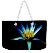 The Blue Lotus Of Egypt Weekender Tote Bag