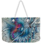 The Blue Mirage Weekender Tote Bag