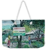 The Blue Mountains Of Jamaica Weekender Tote Bag