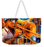 The Blue Nile Jazz Club Weekender Tote Bag