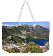 The Blue Vasilashko Lake Pirin National Park Bulgaria  Weekender Tote Bag