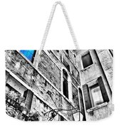 The Blue Window In Venice - Italy Weekender Tote Bag