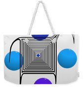 The Blue Zebra Weekender Tote Bag