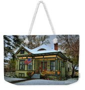 The Blustery Day Weekender Tote Bag