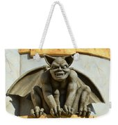 The Boardwalk Of Santa Cruz Gargoyles Weekender Tote Bag