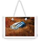 The Boat Poster Weekender Tote Bag