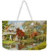 The Boathouse Weekender Tote Bag by Alfred Parsons