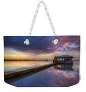 The Boathouse Weekender Tote Bag