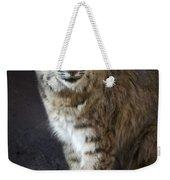The Bobcat Weekender Tote Bag by Saija  Lehtonen