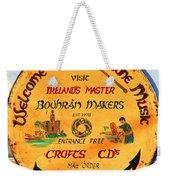 The Bodhran Makers Weekender Tote Bag