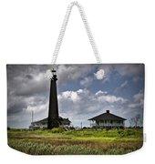 The Bolivar Lighthouse Weekender Tote Bag