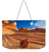 The Bone Yard In The North Coyote Buttes Weekender Tote Bag