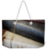 The Books Weekender Tote Bag by David and Carol Kelly