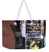 The Boot Weekender Tote Bag