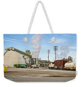 The Borax Plant And Locomotive Weekender Tote Bag