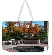 The Botanic Garden Fountain Weekender Tote Bag