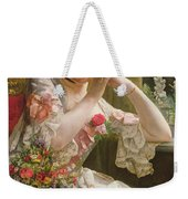 The Bouquet Weekender Tote Bag by Albert Raudnitz