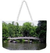 The Bow Bridge Weekender Tote Bag