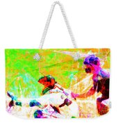 The Boys Of Summer 5d28228 The Catcher Square Weekender Tote Bag