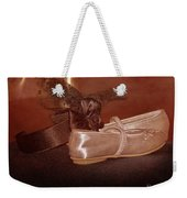 The Bridesmaid's Shoes Weekender Tote Bag by Terri Waters