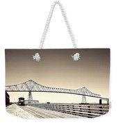 The Bridge At Astoria Weekender Tote Bag