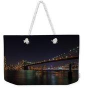 The Bridges Of New York Weekender Tote Bag