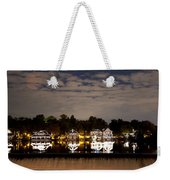 The Bright Lights Of Boathouse Row Weekender Tote Bag