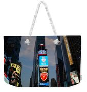 The Bright Lights Of Times Square Weekender Tote Bag