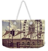 The Brighton Wheel Weekender Tote Bag