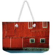 The Broad Side Of A Barn Weekender Tote Bag by Lois Bryan
