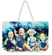 The Bubble Gang Weekender Tote Bag