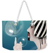the Bubble man Weekender Tote Bag