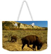 The Buffalo Dance Weekender Tote Bag