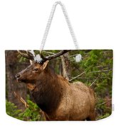 The Bull Elk Weekender Tote Bag