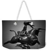 The Bull Ride Weekender Tote Bag