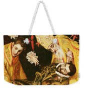 The Burial Of Count Orgaz Weekender Tote Bag