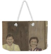 The Butcher And His Wife  Weekender Tote Bag